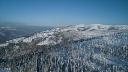 Fototapeta Wisła Krajobraz gór
