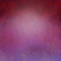 Elegant old distressed pink purple and red background with grunge texture and grainy vintage stains