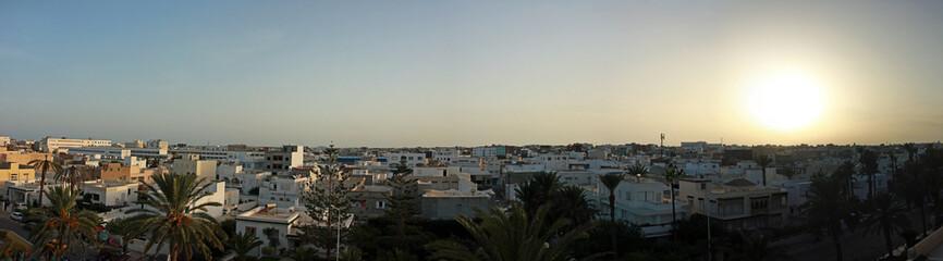 Mahdia panorama view
