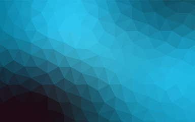 Light BLUE vector polygon abstract layout.