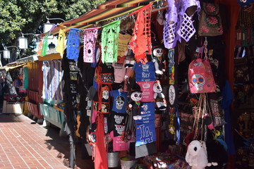 Olvera Street in Los Angeles, California