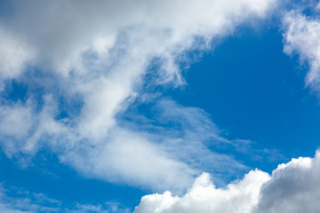 Photo of blue cloudy sky