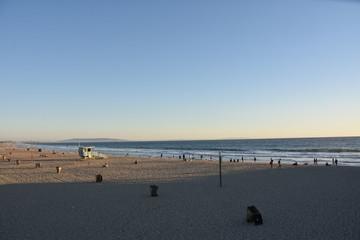 Santa Monica Beach in California