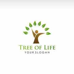 human tree, tree of life vector illustration