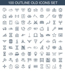 100 old icons