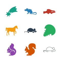 9 tail icons