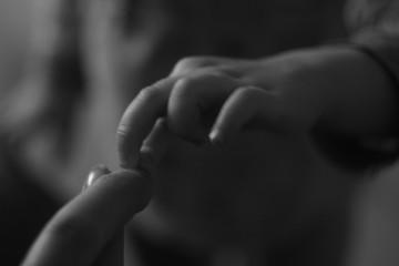 touch child