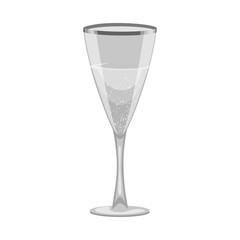 Vector design of drink and bar symbol. Collection of drink and party vector icon for stock.