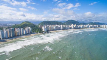 Foto com Drone em Guarujá, SP