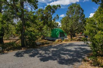 Desert View Campground, Grand Canyon National Park, Arizona, United States