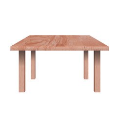 Rectangular shaped table,