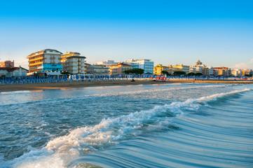 Lido di Jesolo beach, Italy Fototapete