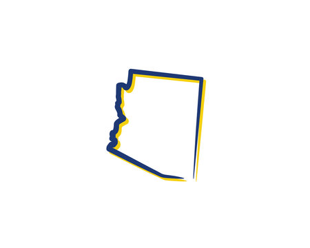 Arizona Outline Logo Icon 001