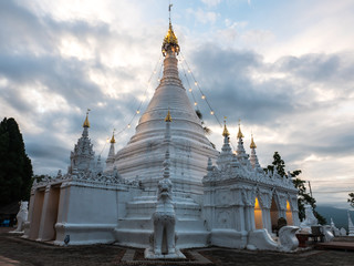 Wat Phrathat Doi Kongmu, landmark in Mae Hong Son, Thailand