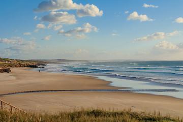 Vista da Praia de São Torpes em Sines Portugal