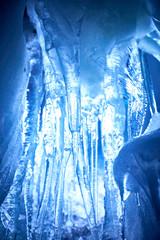Inside of a glacier in Austria - Europe