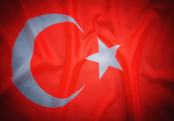 Flag of Turkey, background, texture