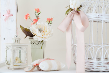 Spring studio decor, light home decor