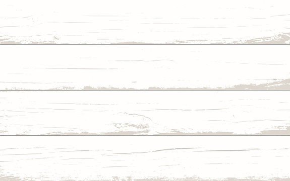 Vector light wood background table, top view. Rustic wooden wall texture. Surface with old natural wooden pattern. Wooden planks overlay texture for your design. Shabby chic background.