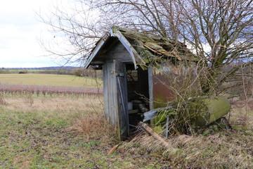 Hütte, Haus, Schuppen, alt, verlassen