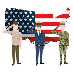 Army forces men design