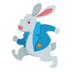 White rabbit Alice in Wonderland fairy character