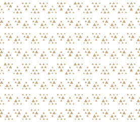 geometric triangle seamless pattern dot design