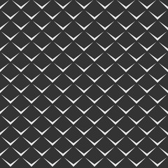 Abstract vector seamless pattern of repeating geometric shapes.