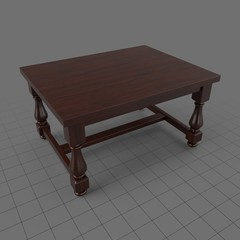 Traditional dining table 2