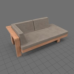 Outdoor double chair