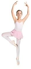 Young Ballet Dancer Performing