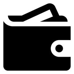 Wallet Credit Card Vector Icon.eps