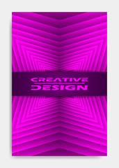 Cover design template for decoration presentation, brochure, catalog, poster, book, magazine