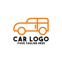 car logo design vector with automobile symbol concept transport
