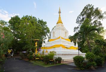 Pagoda In Wat Cang Kump , Wiang Kum Kam, Chiangmai.
