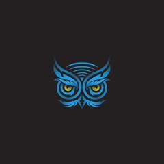 Owl Tribal Art