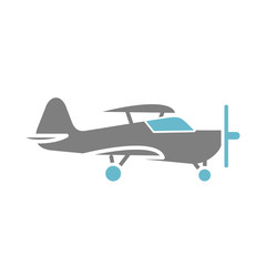 Airplane icon on white background for graphic and web design, Modern simple vector sign. Internet concept. Trendy symbol for website design web button or mobile app