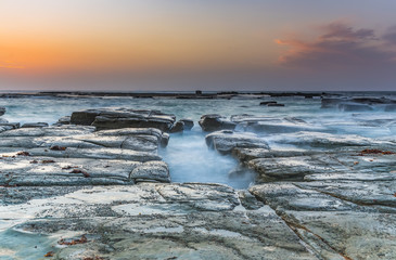 Rocky Coastal Sunrise