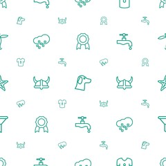 emblem icons pattern seamless white background