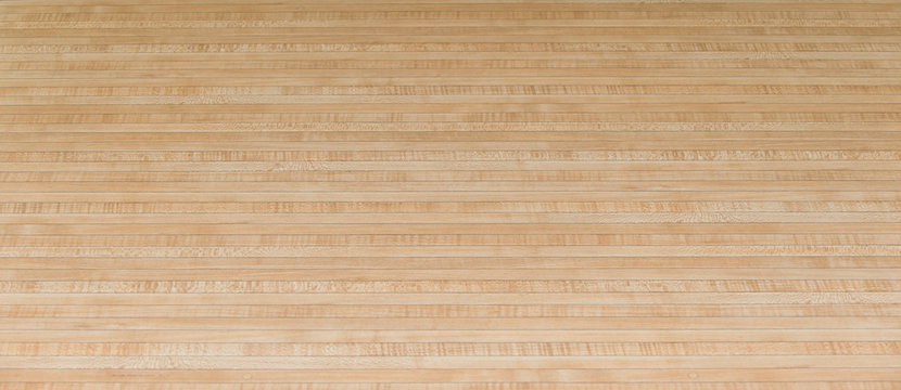 Parquet wood floor black arrows of bowling sport
