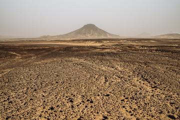 Hills of the Black desert, Egypt