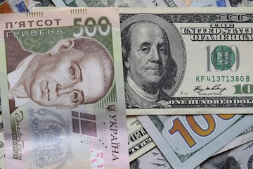 The Hryvnia to the Dollar USA