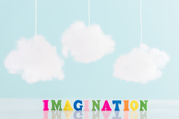 an imagination and creativity concept