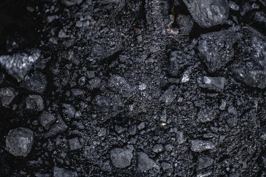 coal. close-up