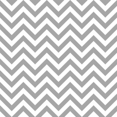 Retro Seamless Pattern Chevron Grey