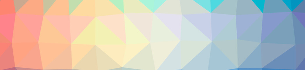 Illustration of abstract Orange, Yellow banner low poly background. Beautiful polygon design pattern.