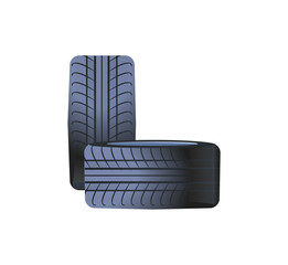 Tire Car Wheels Made of Rubber Material, Tyres