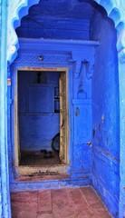 """Jodhpur ou """"la ville bleue"""", deuxième ville du Rajasthan en Inde"""