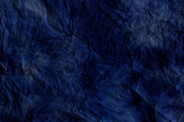 Amazing Dark Blue Painted Background. Blurred Abstract Background Texture. Blue Color.