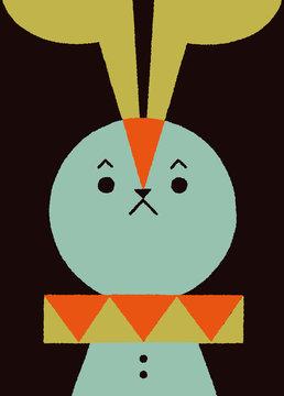 サーカスのウサギ
